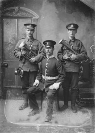 Three Soldiers of the Welsh Regiment