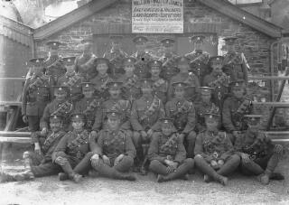 Welsh Regiment Group Portrait