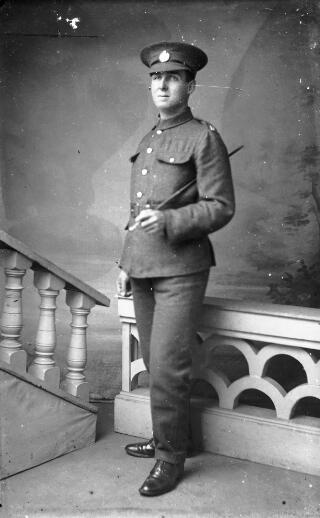 A soldier in the Royal Engineers