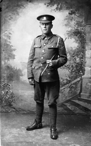 A corporal in the Welsh Regiment