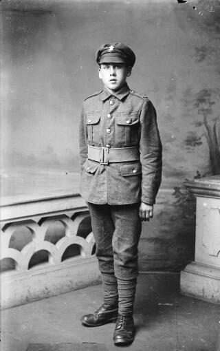 Young Soldier, Welsh Regiment