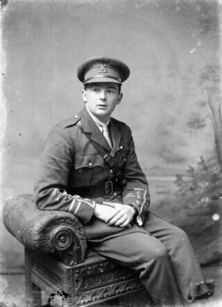 Captain in the Welsh Regiment