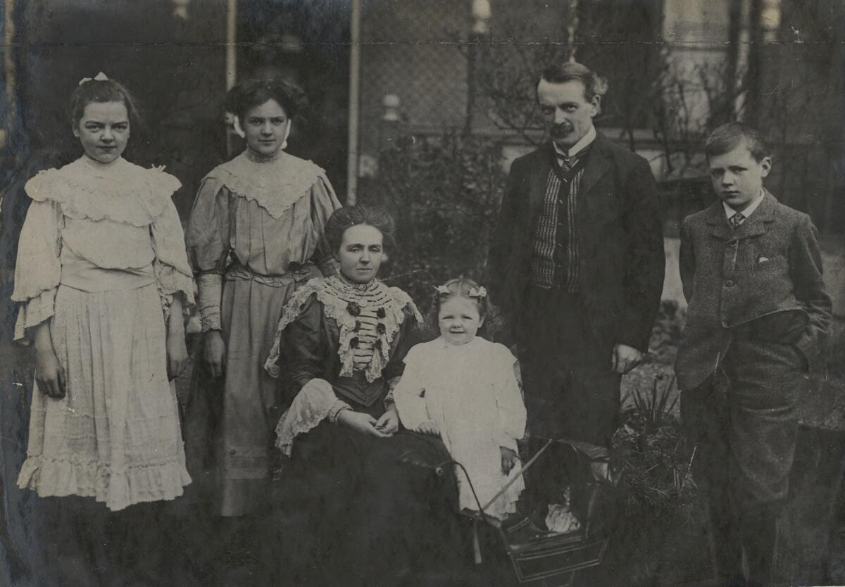 David Lloyd Georges Family The National Library Of Wales